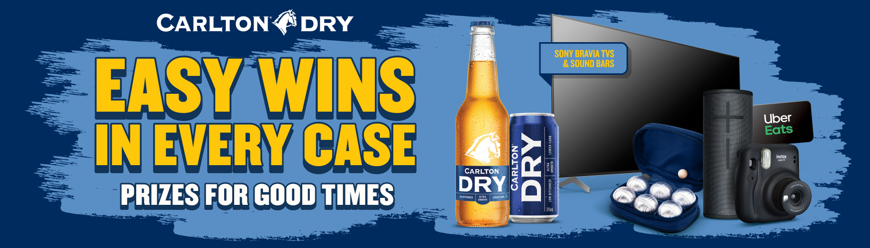 Carlton Dry - House of Dry Promotion