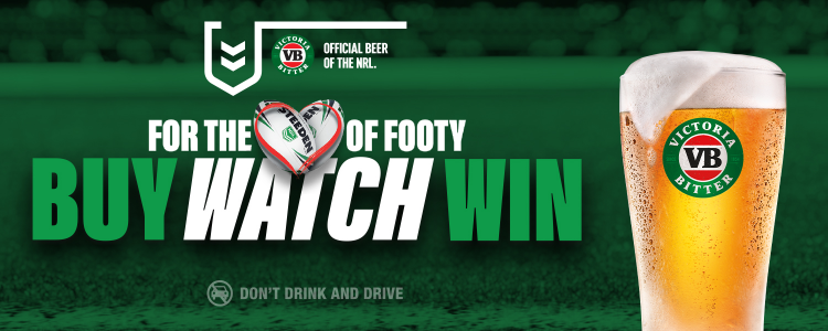 For the Love of Footy - Buy Watch Win Promotion