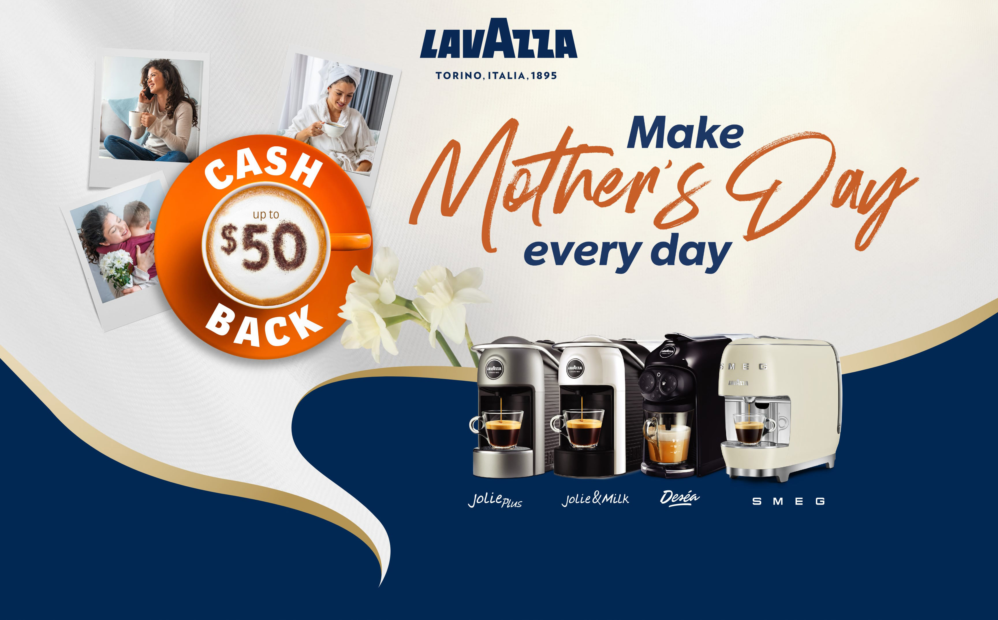 Lavazza Mother's Day Promotion
