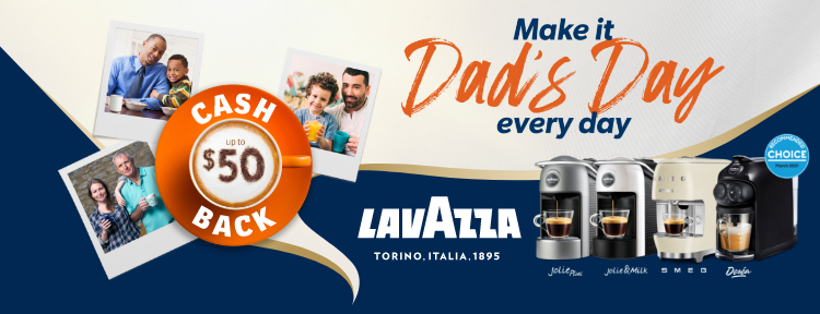 Lavazza Father's Day Promotion